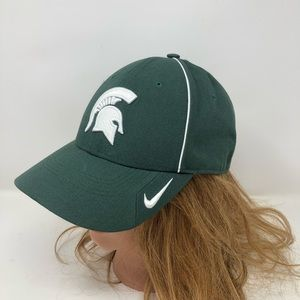 NIKE Michigan State Spartans Legacy Dri Fit Hat